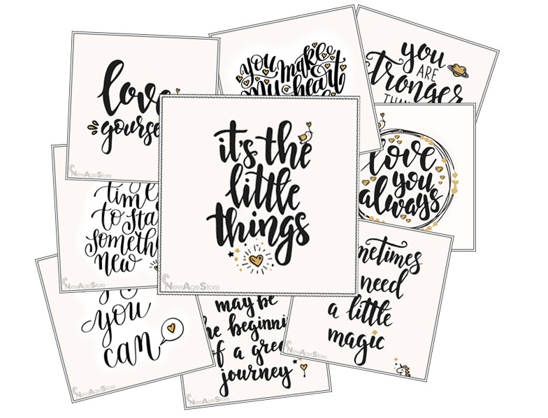 The Little Things Cards