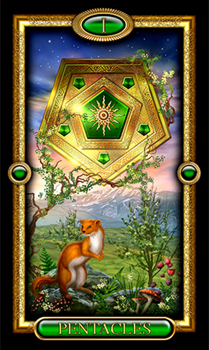 Ace of Pentacles | NewAgeStore