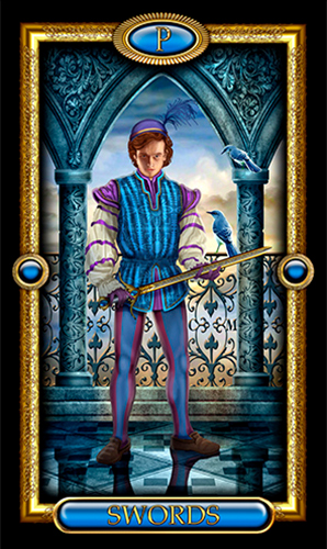 Page of Swords | NewAgeStore